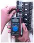 クランプ付デジタルマルチメータ MC-01U